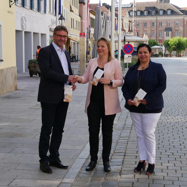 Hand in Hand gegen Altersarmut in Gunzenhausen